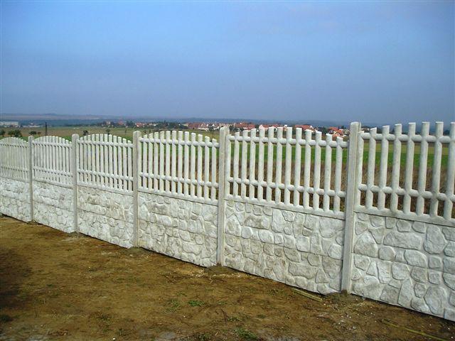 Galerie – mima – ploty na celý život betonové oplocení